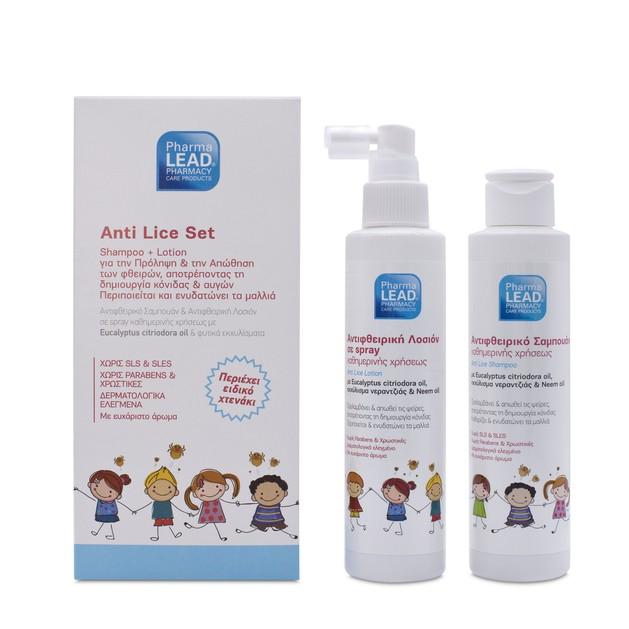 Pharmalead Anti Lice Set Shampoo 125ml & Lotion 125ml