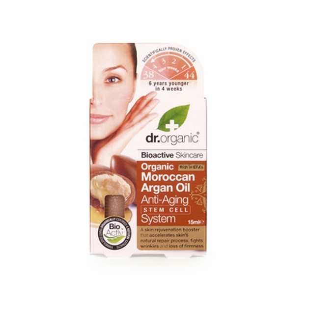 Dr.Organic Organic Moroccan Argan Oil Anti-Aging Stem Cell System 30ml