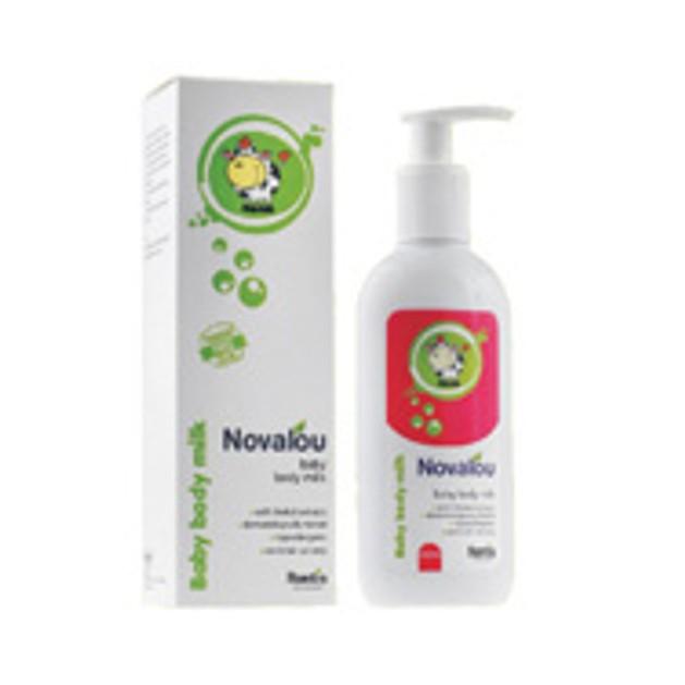 Novalou Baby Body Milk - Βρεφικό γαλάκτωμα σώματος 200ml