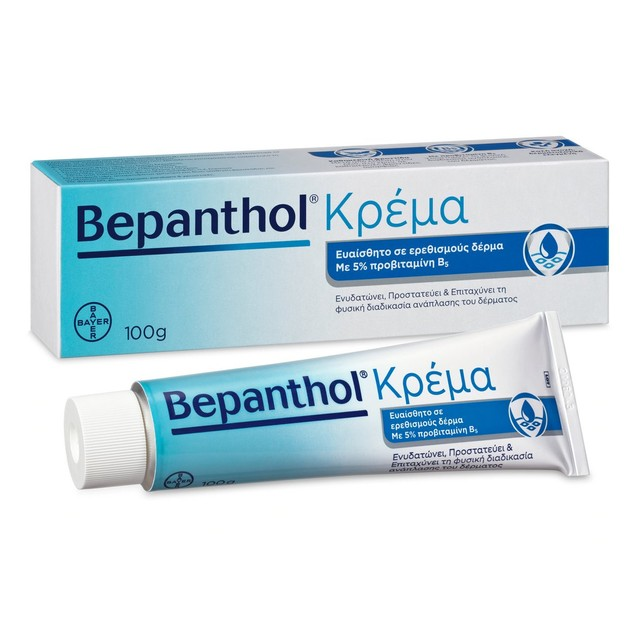 Bepanthol Κρέμα για το Ερεθισμένο & Ευαίσθητο Δέρμα 5% 100 g
