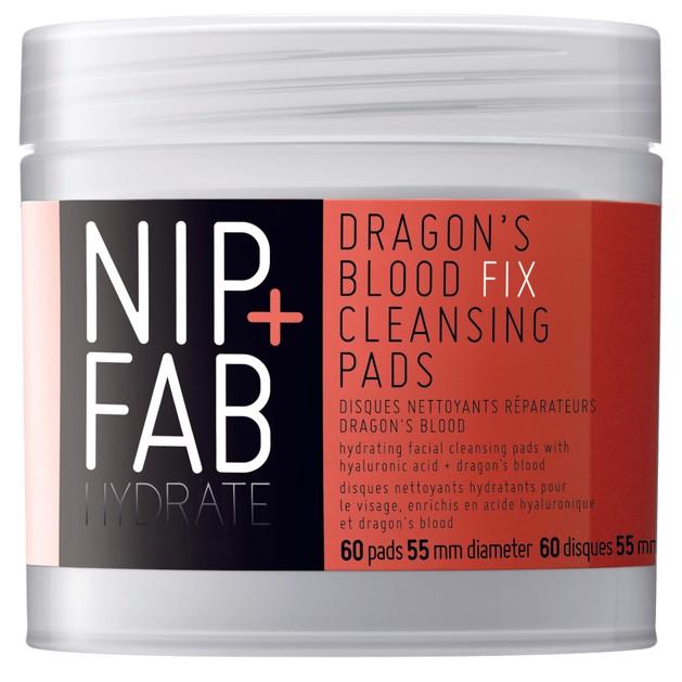 Nip + Fab Dragons Blood Fix Pads Δίσκοι Καθαρισμού Για Το Πρόσωπο 60pads