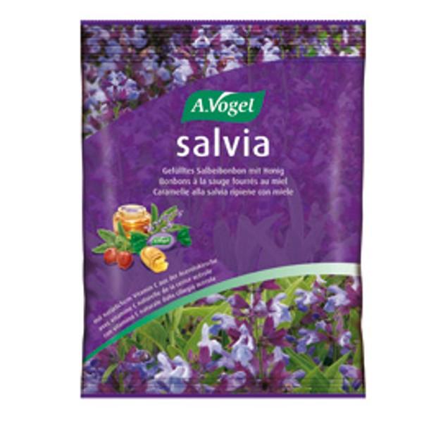 A.Vogel Salvia bonbons Ανακουφίζει Ερεθισμένο Λαιμό Και Φάρυγγα 75gr