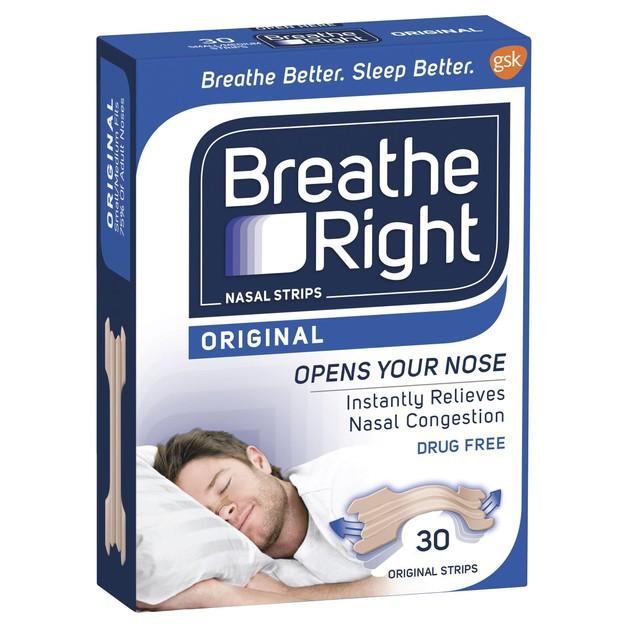 Breathe Right Ταινίες για Ρινική Απόφραξη 30 Τεμάχια