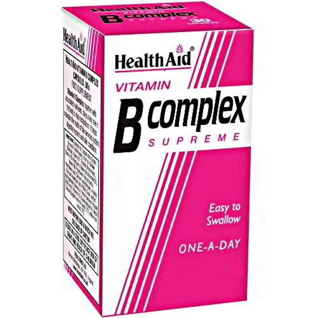 Health Aid Vitamin B Complex 90caps