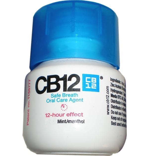 Δώρο CB12 Στοματικό Διάλυμα για Ασφαλή Αναπνοή με Ευχάριστη Γεύση Μέντα 10ml