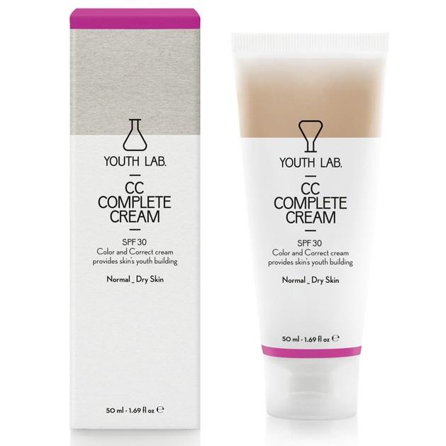 YOUTH LAB. CC Complete Cream Spf30 Normal Dry Skin Έγχρωμη Κρέμα για Κανονικές - Ξηρές Επιδερμίδες 50ml