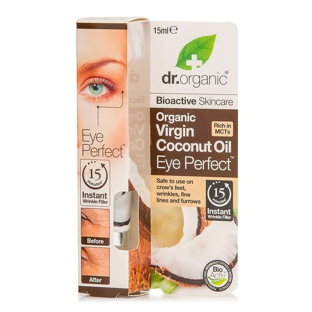Dr.Organic Organic Virgin Coconut Oil Eye Perfect 15ml
