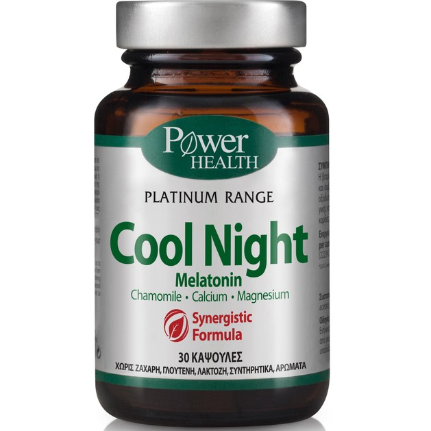 Power Health Platinum Cool Night 30caps