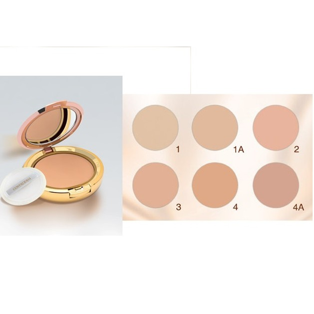 Coverderm Compact Powder Oily Skin Πούδρα Λιπαρή Επιδερμίδα 10gr