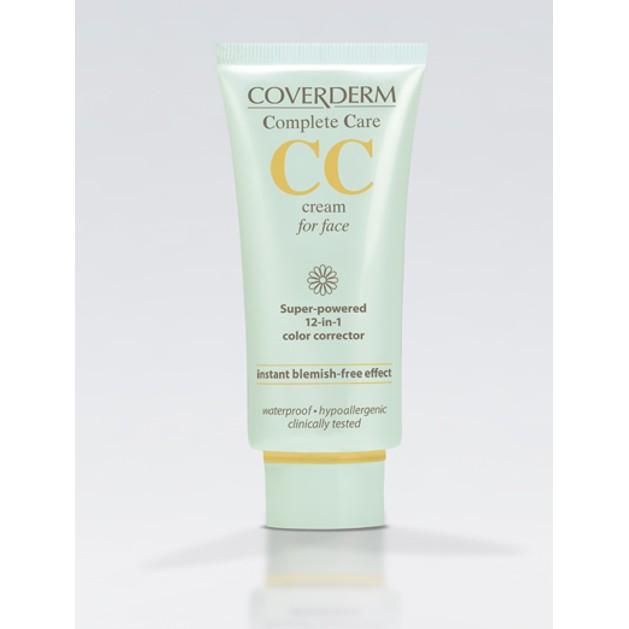 Coverderm Complete Care CC Cream For Face Για Το Πρόσωπο Spf25 40ml