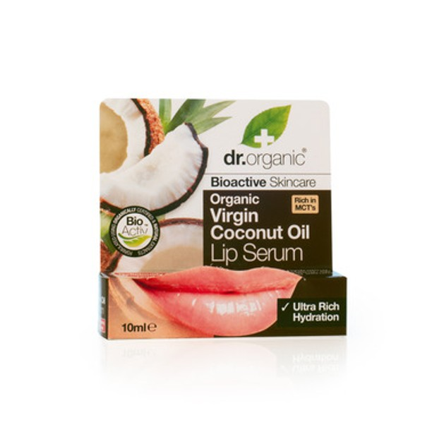 Dr.Organic Organic Virgin Coconut Oil Lip Serum 10ml