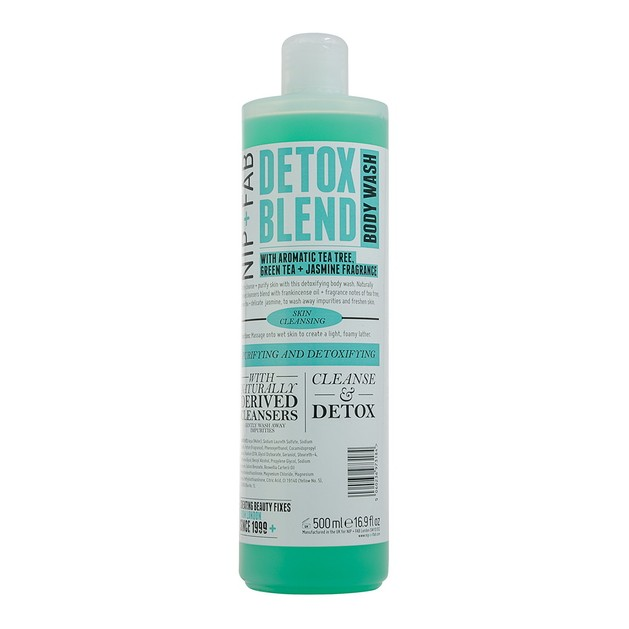 Nip + Fab Detox Blend Body Wash Αποτοξινωτικό Ντους Σώματος 500ml