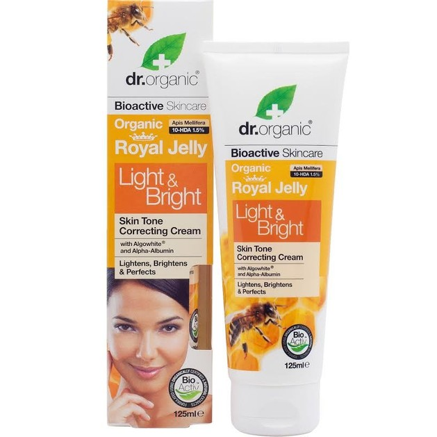 Dr.Organic Royal Jelly Light & Bright Cream 125ml