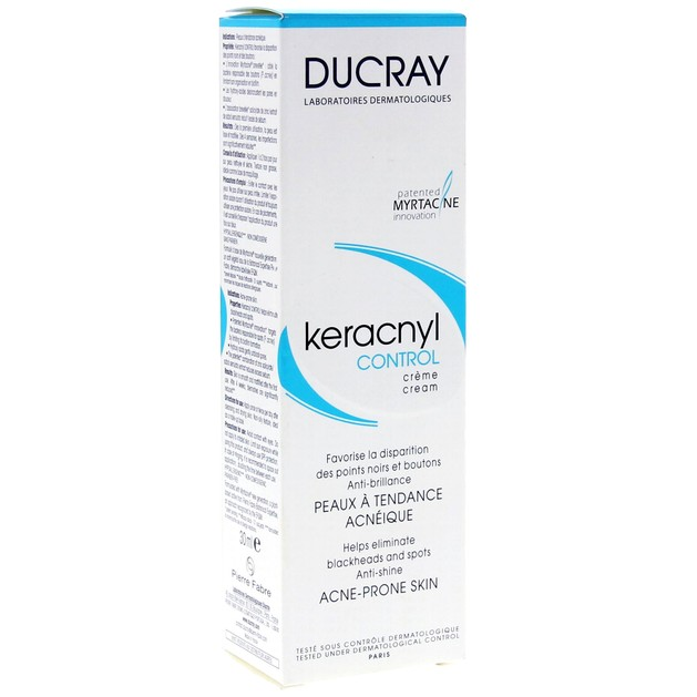Ducray Keracnyl Control Cream 30ml