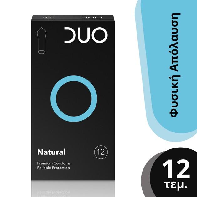 Duo Natural Φυσικά Προφυλακτικά 12 τεμάχια