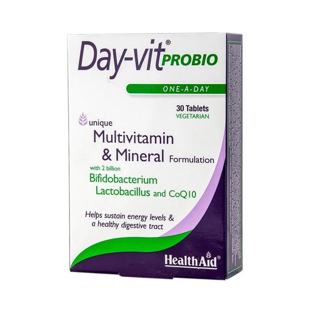 Health Aid Day-vit Probio 30tabs