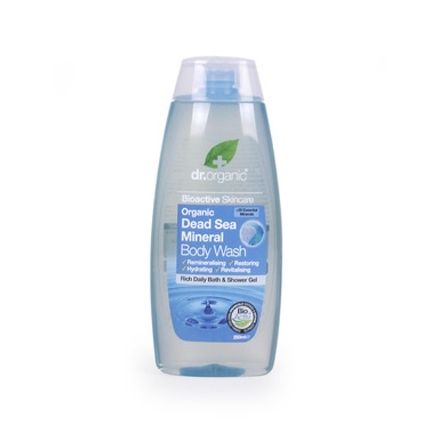 Dr.Organic Organic Dead Sea Mineral Body Wash 250ml