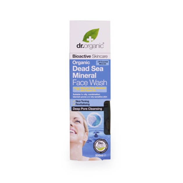 Dr.Organic Organic Dead Sea Mineral Face Wash 200ml