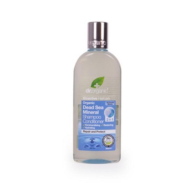 Dr.Organic Organic Dead Sea Mineral Shampoo & Conditioner 2 in 1, 265ml