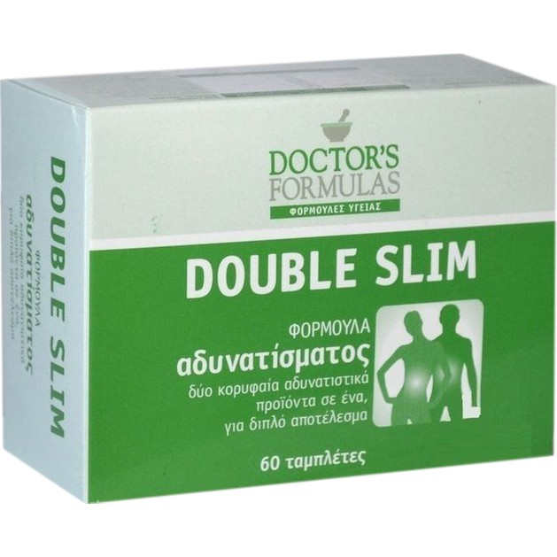 Doctor\'s Formulas Double Slim 60tabs