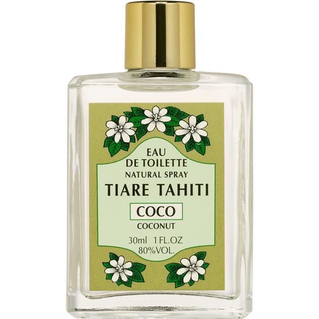 Monoi Tiki Eau De Toilette Natural Tiare Tahiti Coconut Άρωμα Καρύδας 30ml