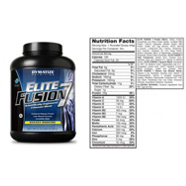 Dymatize Elite Fusion 7 Πηγές Πρωτεΐνης Με Διαφορετικό Ρυθμό Απελευθέρωσης 1.816gr