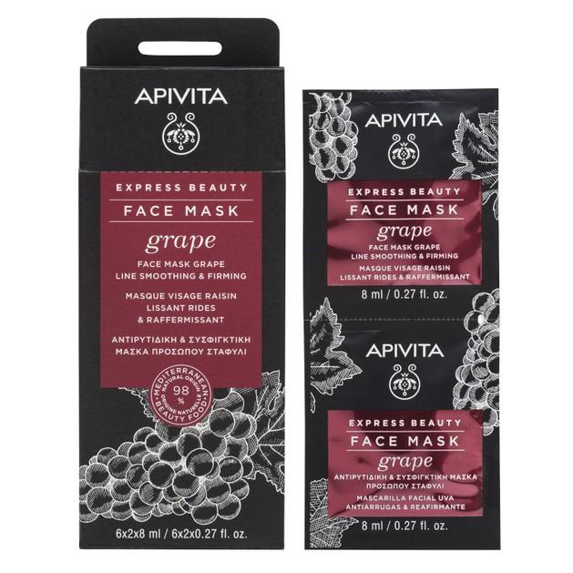 Express Beauty With Grape 2x8ml - Apivita