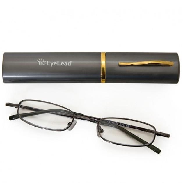 Eyelead Pocket P 204 Γυαλιά Διαβάσματος Τσέπης, Περιλαμβάνεται  Θήκη. Με Εύκαμπτο Βραχίονα & Ανθεκτικό Σκελετό Χρώμα Γκρι