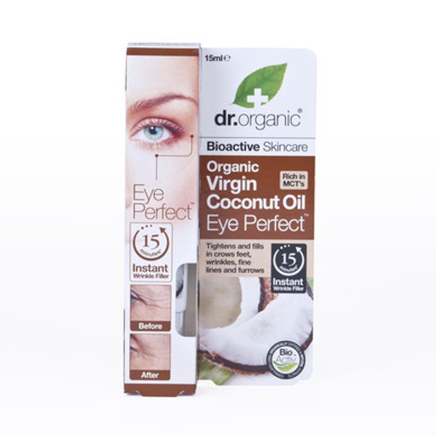 Dr.Organic Organic Virgin Coconut Oil Eye Perfect 15ml