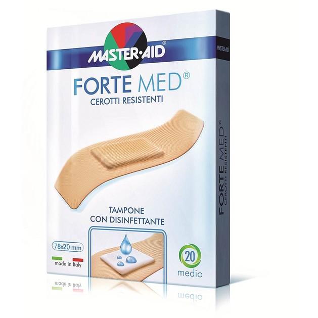 Master Aid Forte Med Στενά (78x20mm) & Φαρδιά (78x26mm) 20 strip