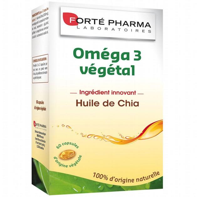 Forte Pharma Omega 3 Vegetal 60Caps