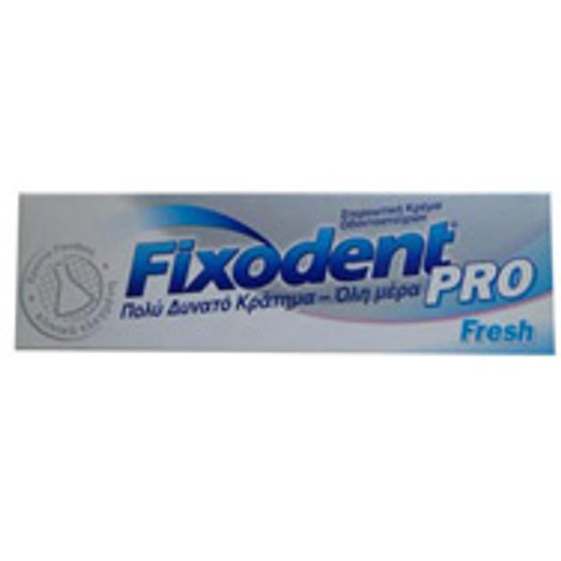 Fixodent Pro Fresh 47g Στερεωτική κρέμα οδοντοστοιχιών
