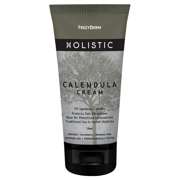 Frezyderm Holistic Calendula Cream Κρέμα για Πρόσωπο και Σώμα που Ανακουφίζει Ενυδατώνει Καταπραΰνει 50ml