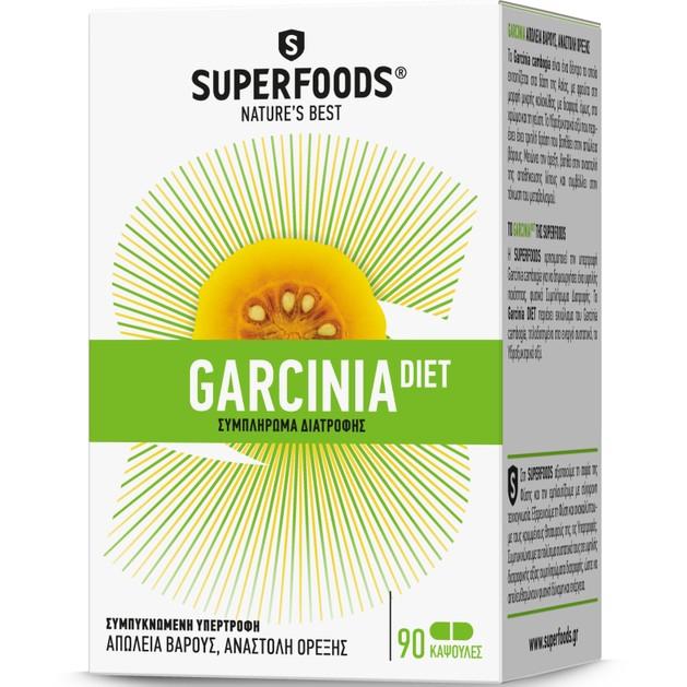 Superfoods Garcinia Diet 90 Κάψουλες