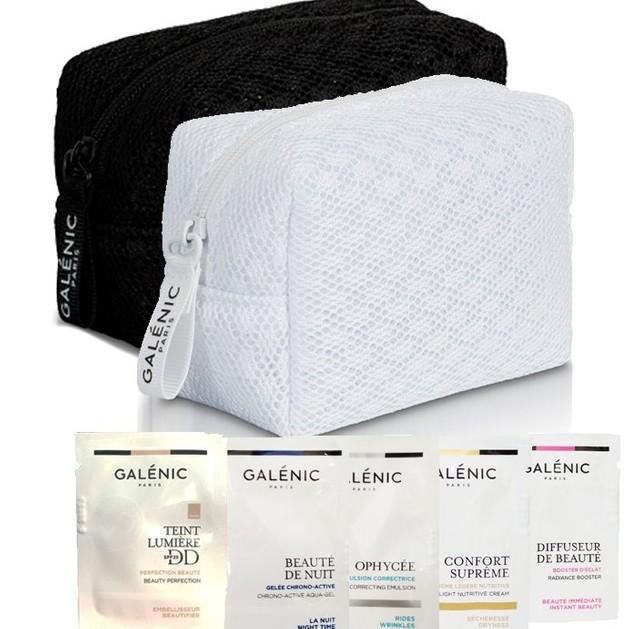 Δώρο Galenic Trousse Dentelle Blanche/Noire & Δείγματα Περιποίησης του Προσώπου