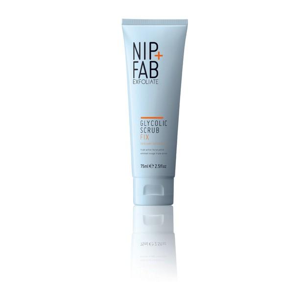 Nip + Fab Glycolic Scrub Fix Μικροαπολέπισης Που Δρα Στο Βάθος Των Πόρων  75ml