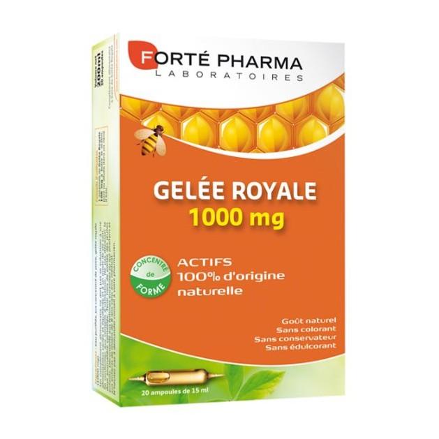 Forte Pharma Gelee Royale 1000mg 20Αμπούλες x 10ml