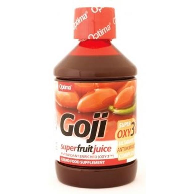 Optima Goji Super Fruit Juice With Oxy3 Χυμός Από Τους Καρπούς Goji 500ml