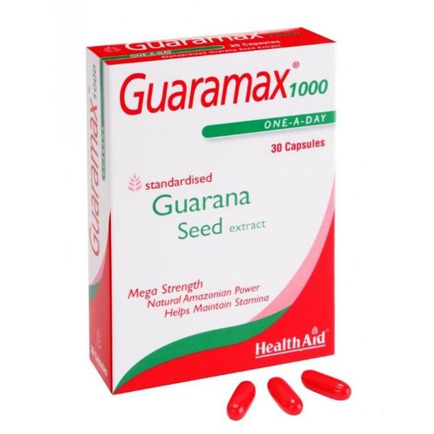 Health Aid Guaramax 1000 250mg 30caps