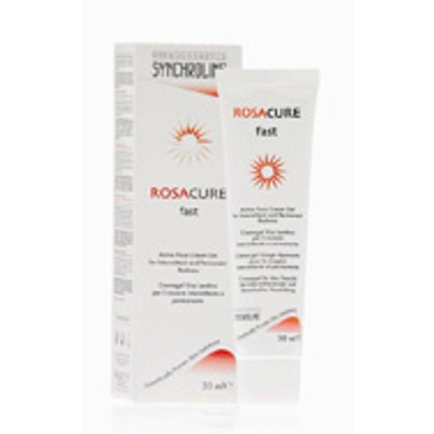 Synchroline Rosacure Fast Cream Κρέμα gel για Μόνιμες ή Παροδικές Κοκκινίλες στο Πρόσωπο 30ml