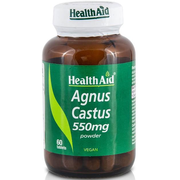Health Aid Agnus Castus 550mg 60tabs