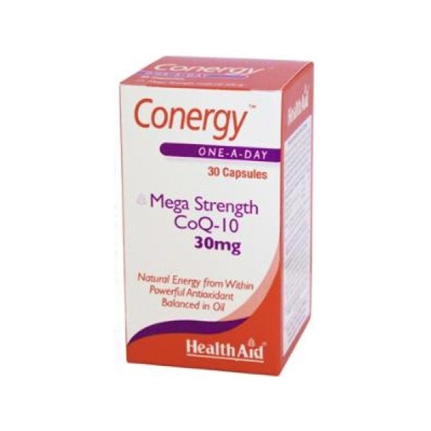 Health Aid Conergy CoQ10 30mg 30caps