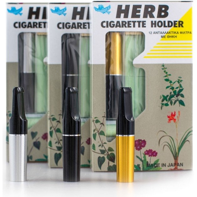 Herb Cigarette Holder Για Συγκράτηση Των Βλαβερών Ουσιών Του Καπνού