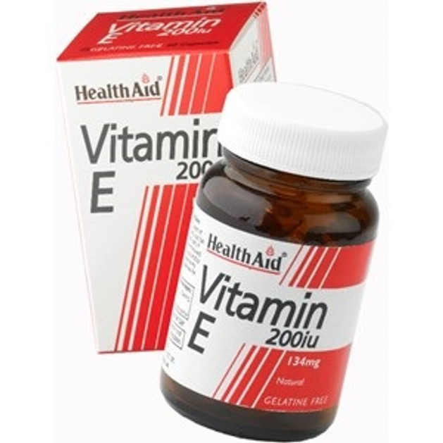 Health Aid Vitamin E 200iu 60caps