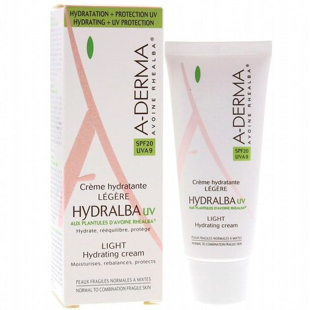 A-Derma Hydralba Hydratante UV Legere Cream Spf20 40ml