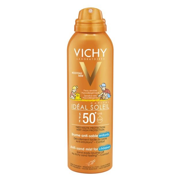 Vichy Ideal Soleil Anti Sand Spray for Children Spf50+, 200ml