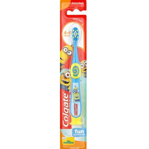 Colgate MinionsExtra Soft Παιδική Οδοντόβουρτσα 2-6 Ετών