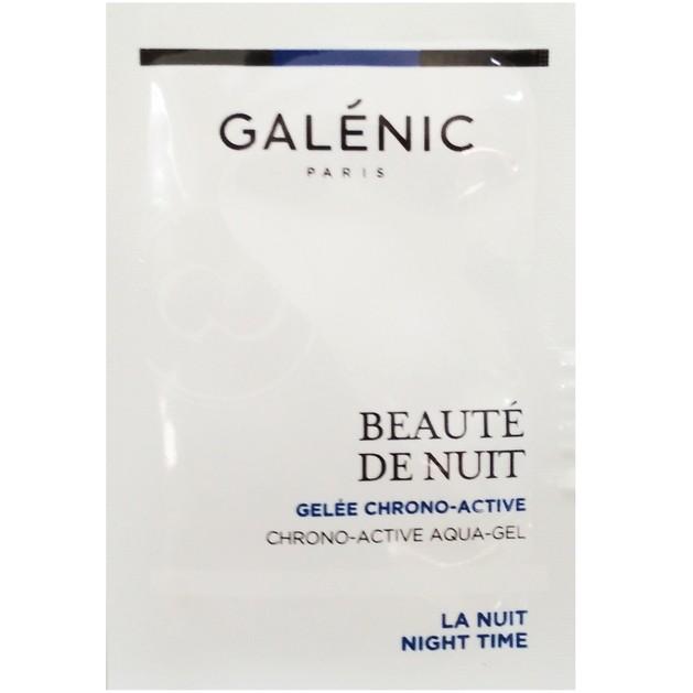 Δείγμα Galenic Beaute de Nuit Gelée Chrono-Active Χρονο-Ενεργό Ζελ Νυκτός για Ανανέωση & Ενυδάτωση στη Διάρκεια της Νύχτας 2ml
