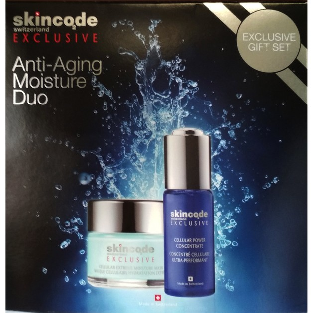 Skincode Promo Exclusive Gift Set Anti-Aging Moisture Duo Concentrate Ορός Εντατικής Θεραπείας 30ml & Mask 50ml