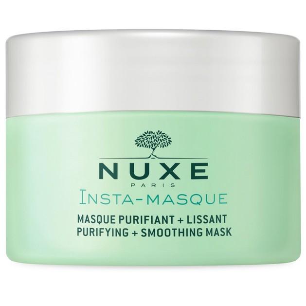 Nuxe Insta-Masque Purifying & Smoothing Mask Καθαριστική & Λειαντική Μάσκα για Βαθύ Καθαρισμό με Τριαντάφυλλο & Άργιλο 50ml